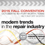 International Concrete Repair Institute Convention